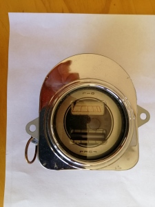 Ford Sedan 1935 used car part search Looking for the following parts -  Fuel and oil pressure gauge (one unit) for a 1935 ford. Oil is electric and fuel is hydros