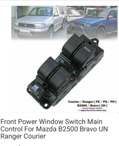 Mazda B-Series Ute 2005 used car part search RHS Power window switch 4 Door (UN)