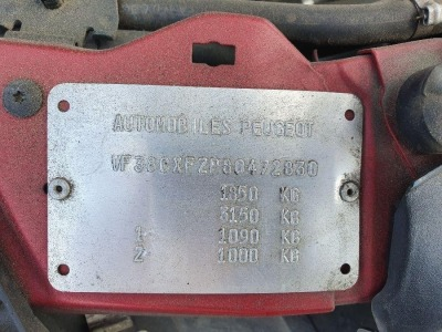 Peugeot 406 Coupe 1998 used car part search Front under trays, or similar that we can modify to fit this vehicle